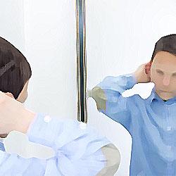 鏡の向こう 俺怖 [洒落怖・怖い話 まとめ]