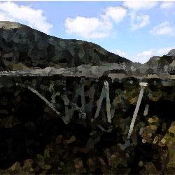 阿蘇の赤橋
