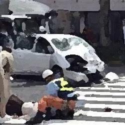 コンビニの前で事故 俺怖 [洒落怖・怖い話 まとめ]