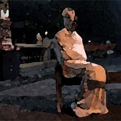 ベンチに座る女 俺怖 [洒落怖・怖い話 まとめ]