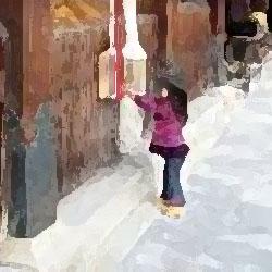 神社の女の子 俺怖 [洒落怖・怖い話 まとめ]