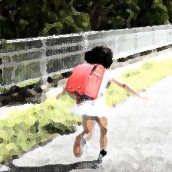 ものすごい勢いで走る女の子 俺怖 [洒落怖・怖い話 まとめ]